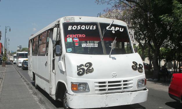 Puebla sancionará a transporte público pirata