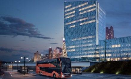 Lanza Volvo Buses nuevo Double Decker