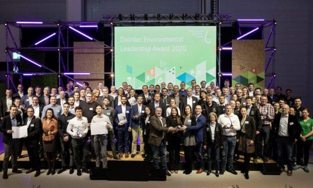 Celebra Daimler 20 años del Premio al Liderazgo Ambiental