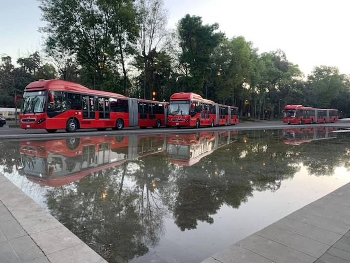 20 nuevos autobuses Volvo para Metrobús L1
