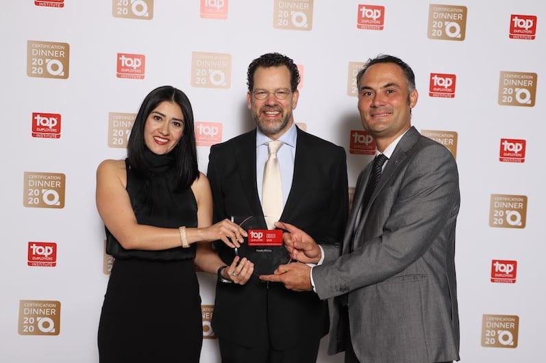 Recibe Scania México certificación Top Employer 2020