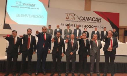 Canacar Querétaro tiene nueva mesa directiva