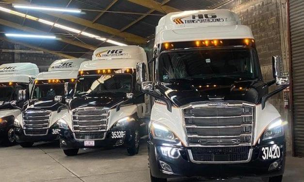 10 Nuevos Cascadia para HG Transportaciones
