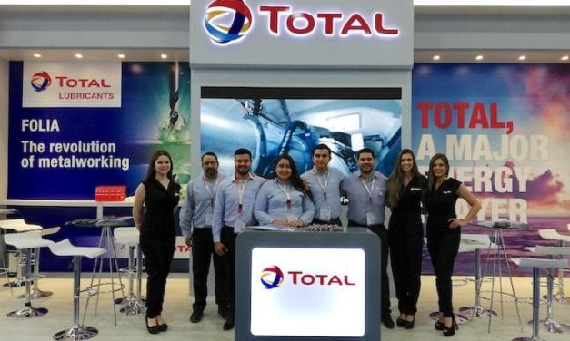 Total presenta oferta industrial en Expo Manufactura
