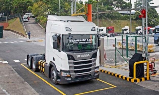 Producirá Scania camiones a gas en Brasil