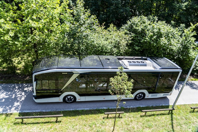 Luce MAN Truck & Bus en ElekBu 2020-Magazzine del Transporte