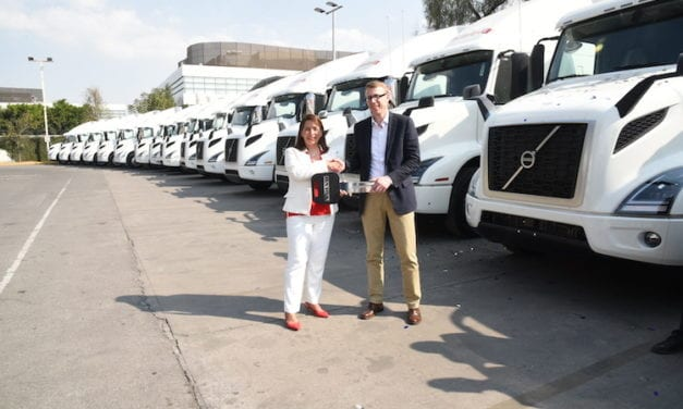Estrena Estafeta 16 unidades Volvo GHG