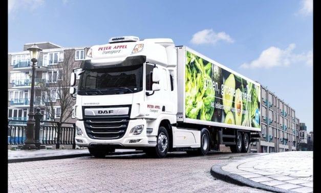 A prueba camión híbrido de DAF