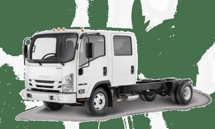Revela Isuzu nuevos camiones a gasolina en WTS