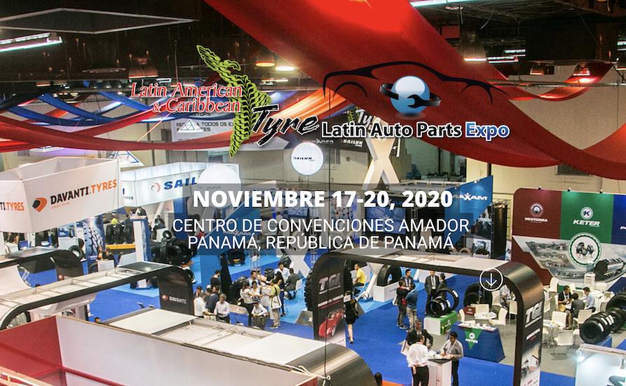 Será hasta noviembre la Latin American & Caribbean Tyre Expo