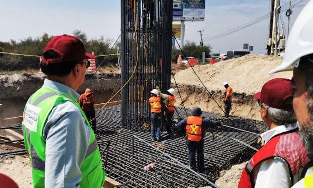 Avanzan obras carreteras en Nuevo León
