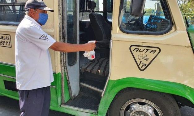 Ruta 17 incrementa higiene en sus unidades