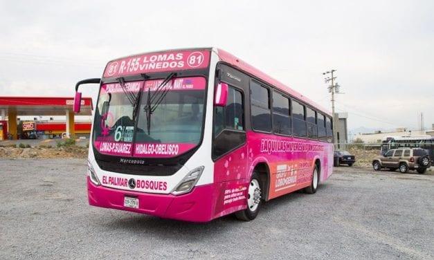 NL equipa transporte público para combatir acoso a mujeres