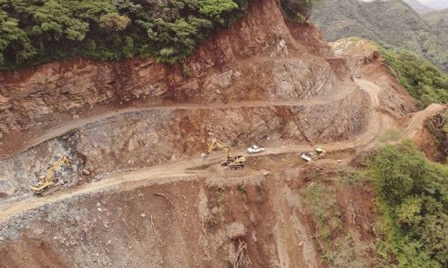 Avanzan obras de la carretera Badiraguato–Guadalupe