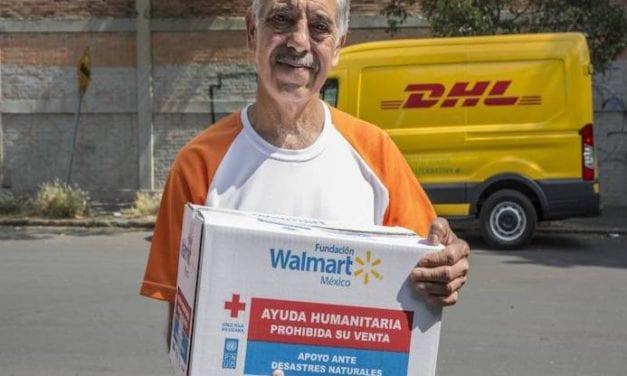 DHL y Walmart suman esfuerzos para distribución de despensas
