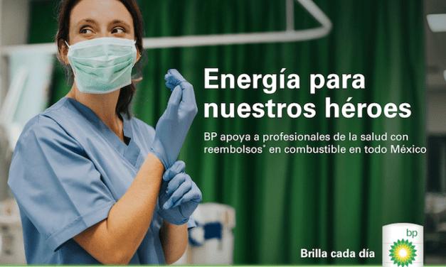 Extiende BP apoyo a todo el personal de salud
