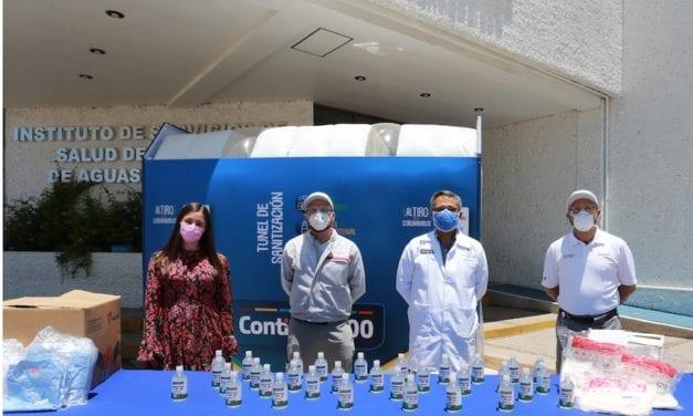 Nissan dona equipo de protección a entidades mexicanas