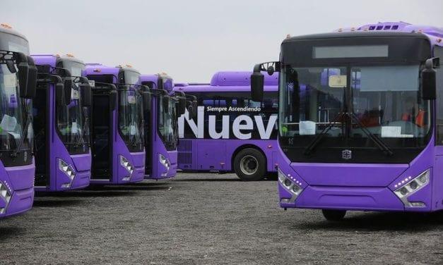 Nuevos autobuses listos para la Ruta Express de NL