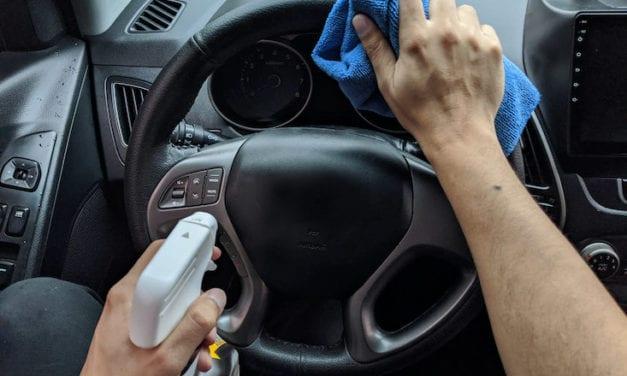Bridgestone te muestra cómo desinfectar tu auto