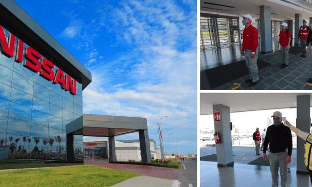 Nissan reanuda gradualmente producción en México