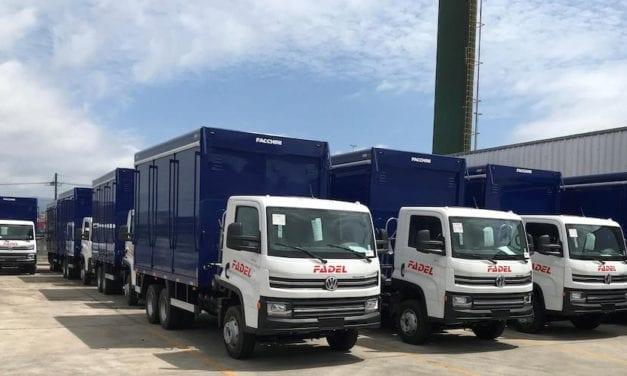 Entrega VWCO 126 camiones en Paraguay