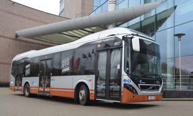 Volvo pondrá en marcha 128 autobuses híbridos en Bruselas