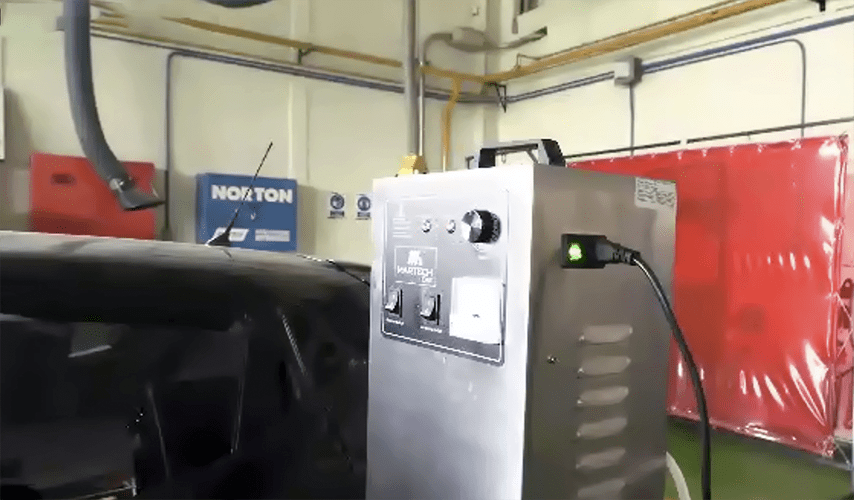 Propone CESVI desinfectar autos con ozono