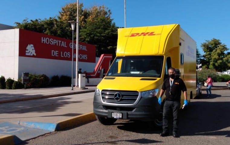 Proporciona DHL apoyo logístico a Bayer
