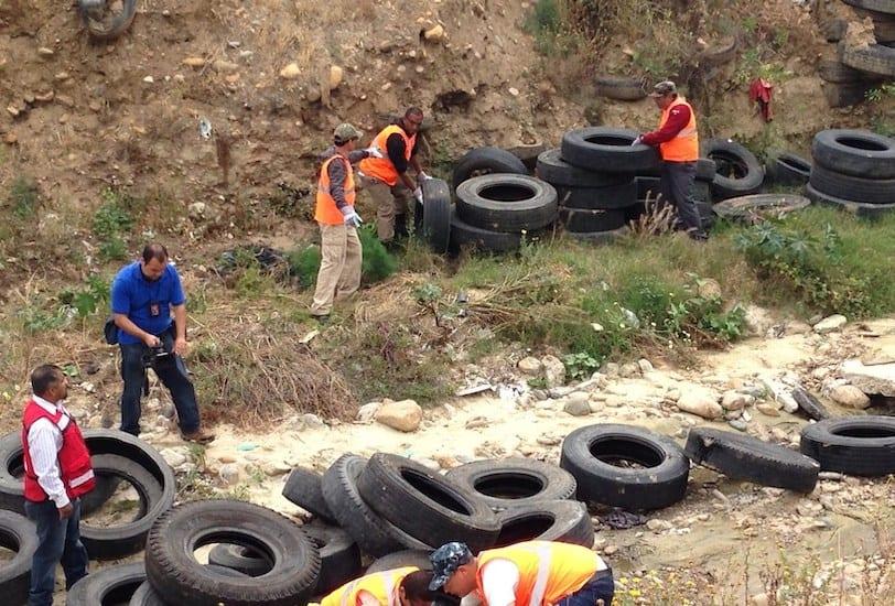 Apoya Pirelli recolección de llantas de desecho