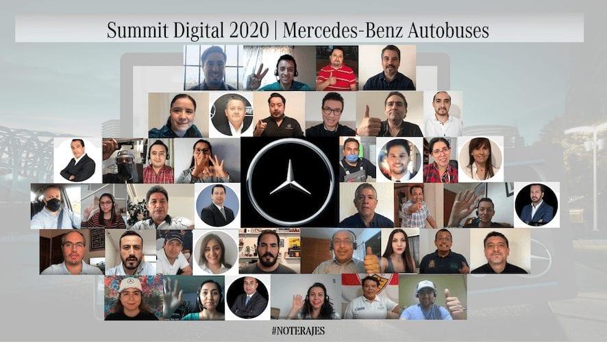 Finaliza Summit Digital 2020 de Mercedes-Benz Autobuses
