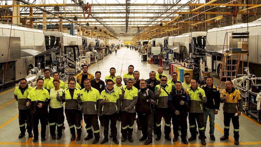 Reactiva Volvo Buses operaciones en Tultitlán