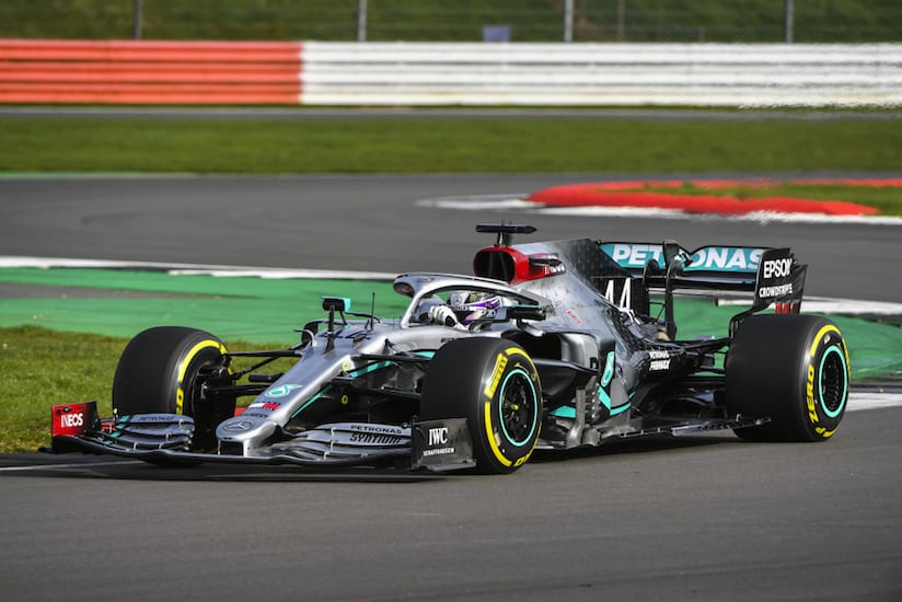 Spies Hecker de Axalta desarrolla un nuevo diseño para Mercedes-AMG Petronas