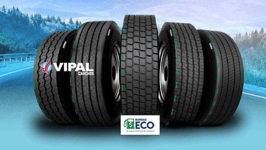 Con bandas ECO Vipal más economía en la carretera