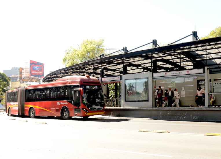 9 biarticulados Volvo se sumarán al Metrobús