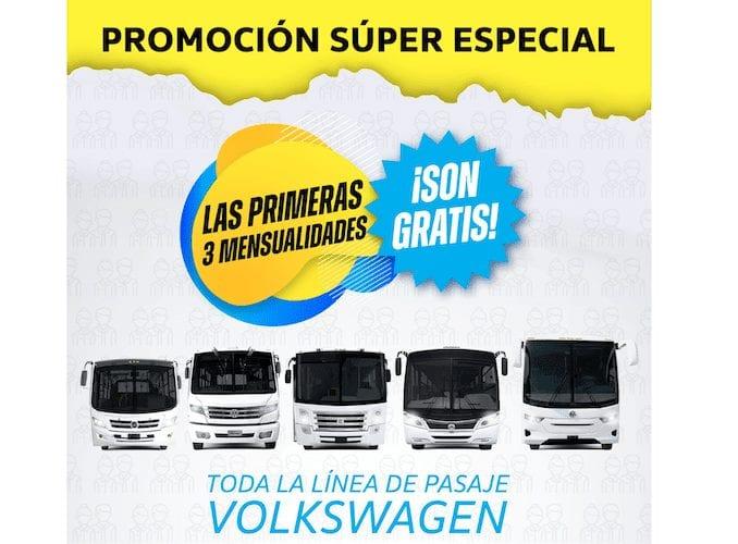 Promociones VW Camiones y Autobusespara reactivar la movilidad