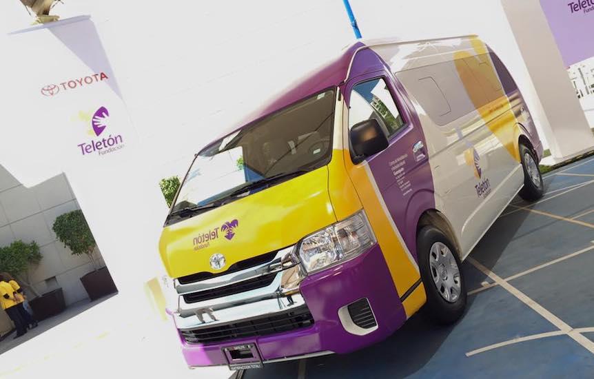 69 vehículos Toyota apoyan la movilidad de Fundación Teletón