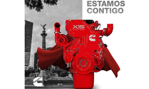 Con el mejor CTO, motores X15 de Cummins