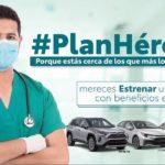 Anuncia Toyota financiamiento exclusivo para personal de salud