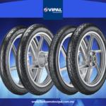 Crece la preferencia por llantas de moto Vipal