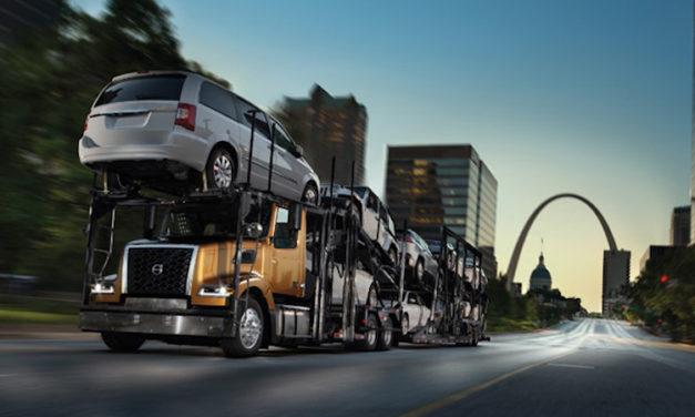 Máxima carga útil en camión nodriza de Volvo