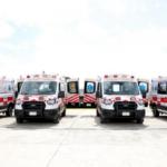 Estrena Yucatán 12 ambulancias