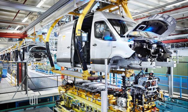 Se fabrica Sprinter en 4 plantas de Mercedes-Benz para el mundo