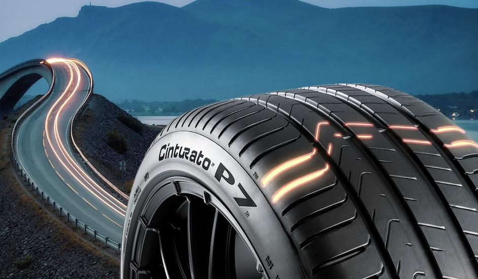 Neumático de colección Pirelli para el Fiat 500