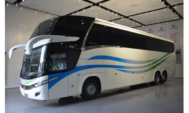 Exporta Marcopolo primer bus Paradiso New G7 a Ghana