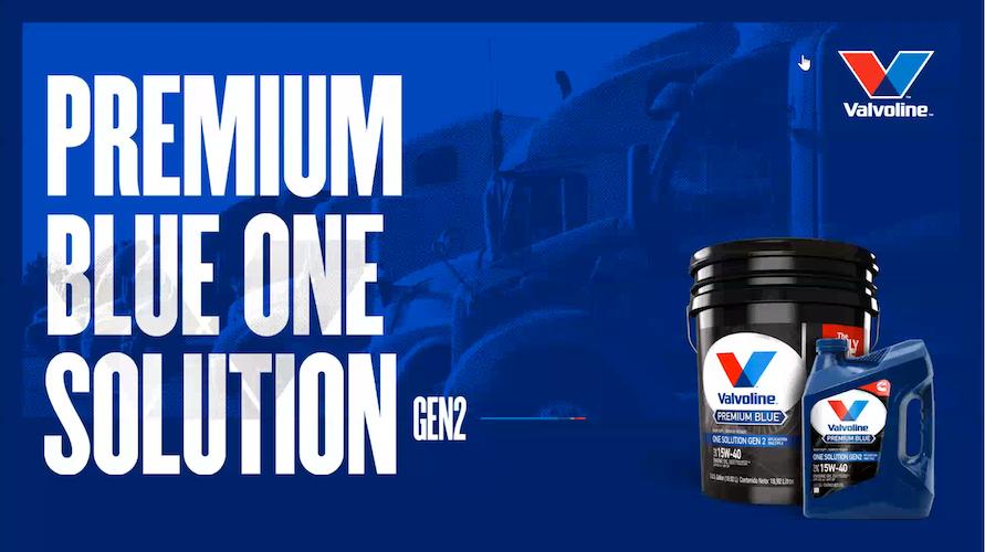 Llega a México Valvoline Premium Blue One Solution GEN2