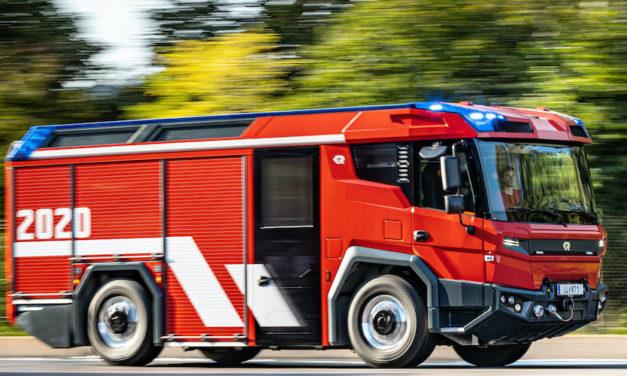 Inicia Volvo Penta revolución en camiones de bomberos