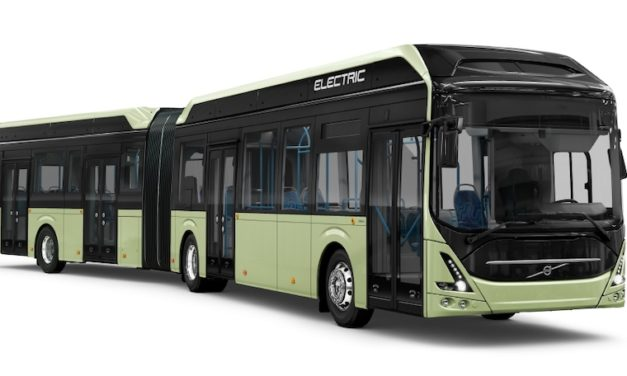 Recibe Volvo Buses otro pedido de autobuses eléctricos