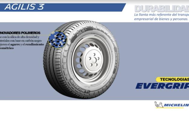 Para la última milla, nueva Agilis 3 de Michelin