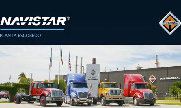 Más de 733 mil camiones Navistar producidos en planta Escobedo