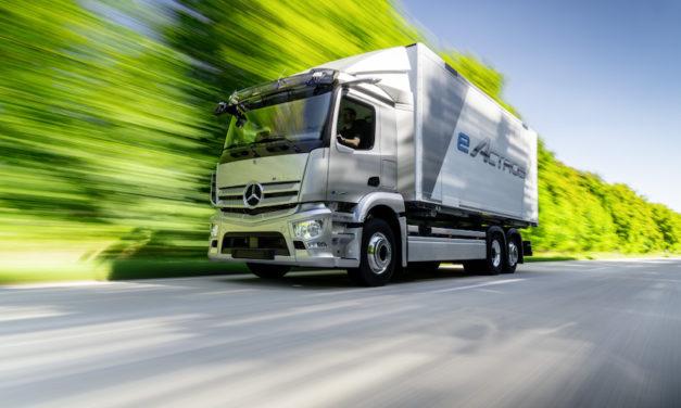 Daimler Trucks presenta el Mercedes-Benz GenH2 Truck